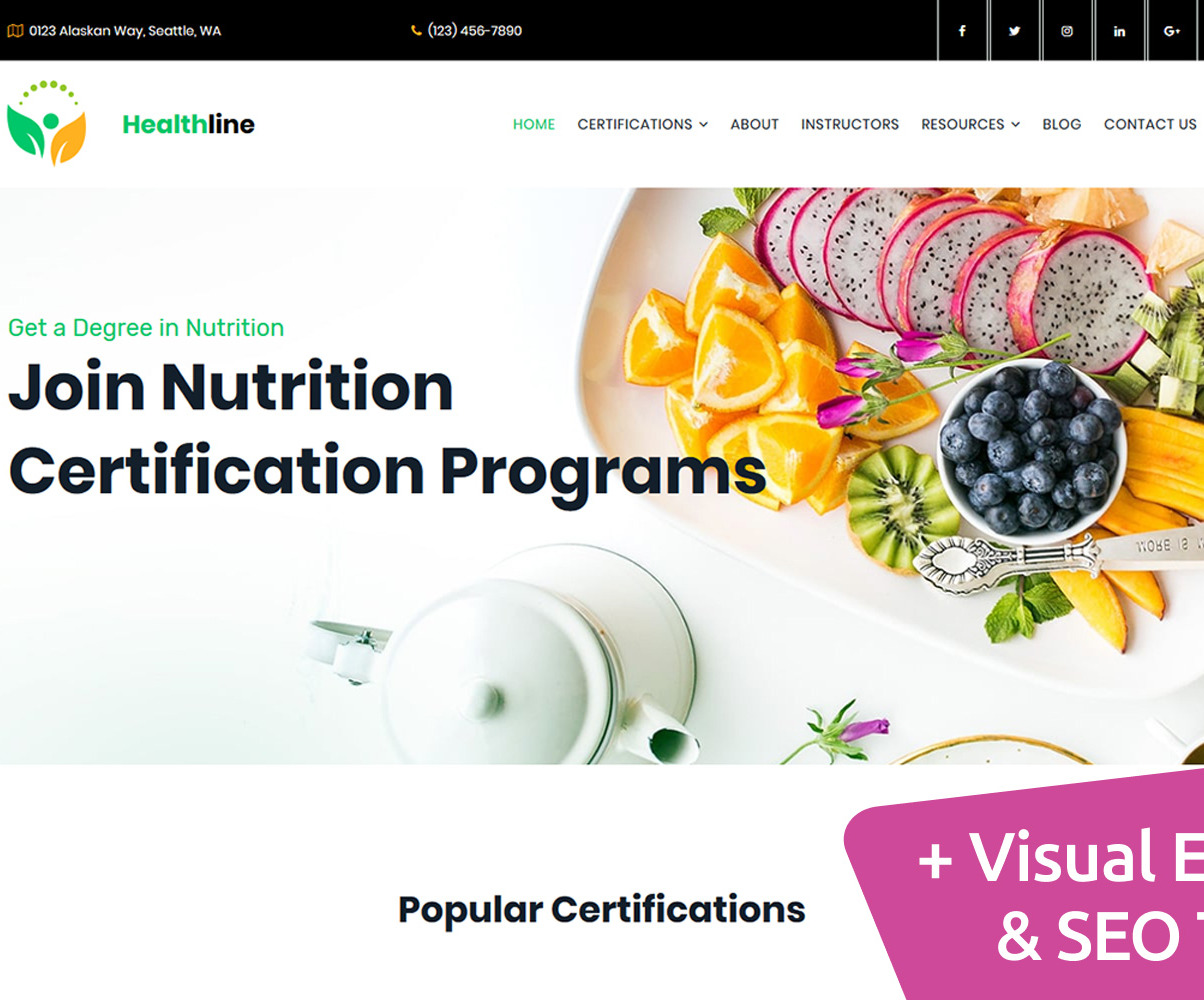 nutrition programs moto cms certification template