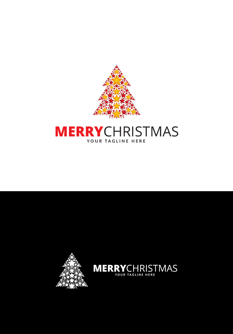 merry christmas logo template 69279 merry christmas logo template