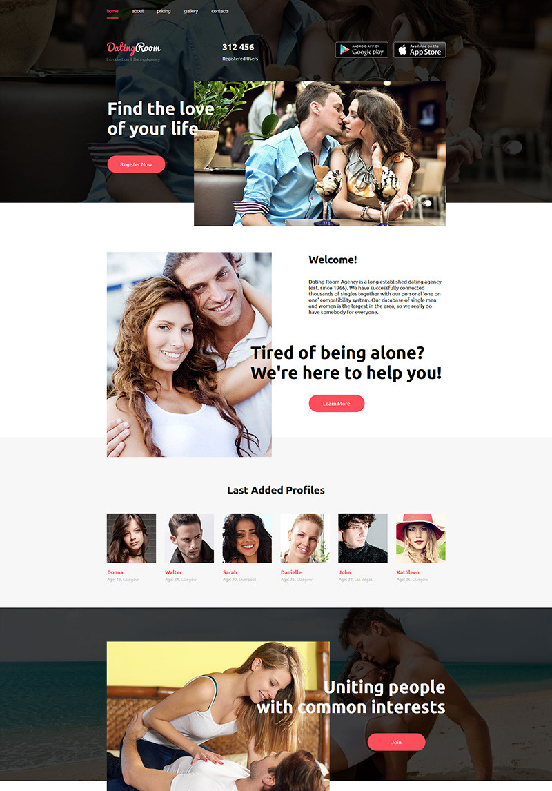 dating introduction agencies