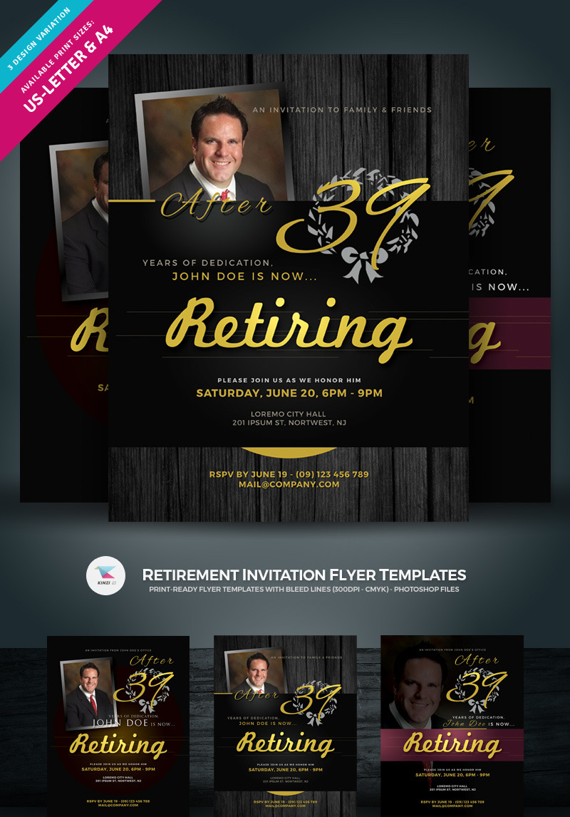 Retirement Flyer Template from s.tmimgcdn.com