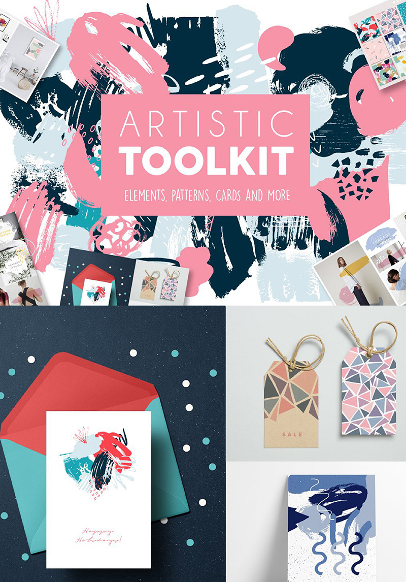 Artistic Toolkit Illustration 90959