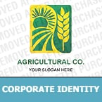 Agriculture Corporate Identity Template 12184