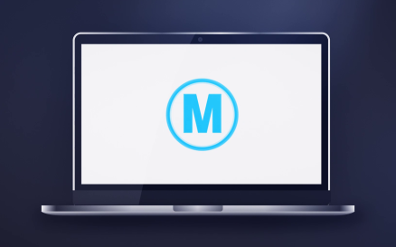 Laptop Logo Reveal After Effects Template