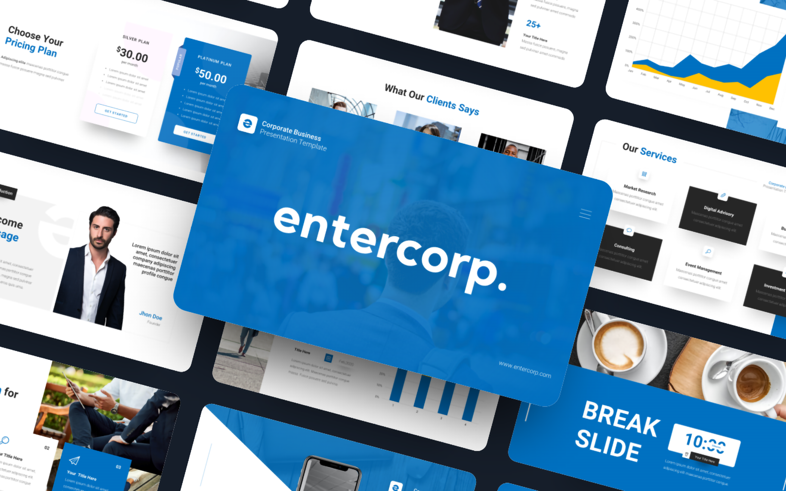 Entercorp - Corporate Business PowerPoint Template