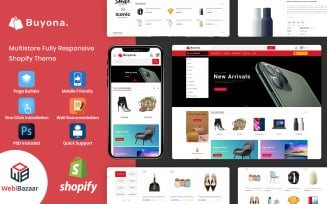 Buyona - Multipurpose E-commerce Template Shopify Theme