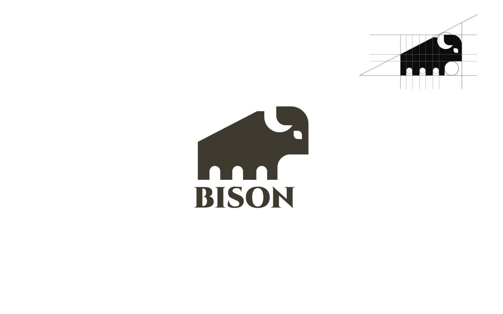 "Tema di Loghi #121107 ""Bison"""