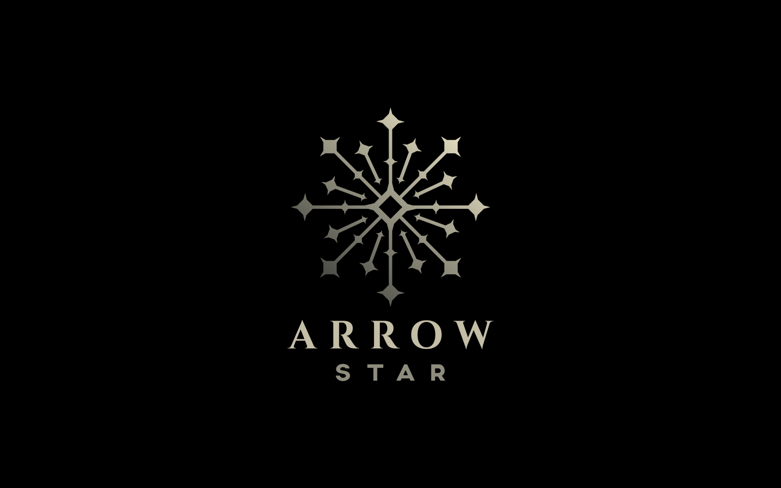 "Template di Loghi #121111 ""Arrow Star"""