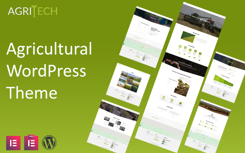 AgriTech - Agriculture Industry WordPress Theme