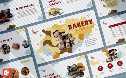 Bakery Presentation PowerPoint Template