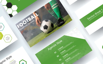 Free Soccer Football PowerPoint Template