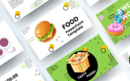 Free Food PowerPoint Template