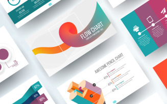 Free Flow Chart PowerPoint Template