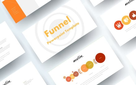 Free Funnel PowerPoint template PowerPoint Template