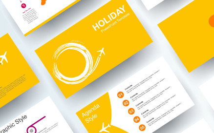 Free Holiday PowerPoint template PowerPoint Template