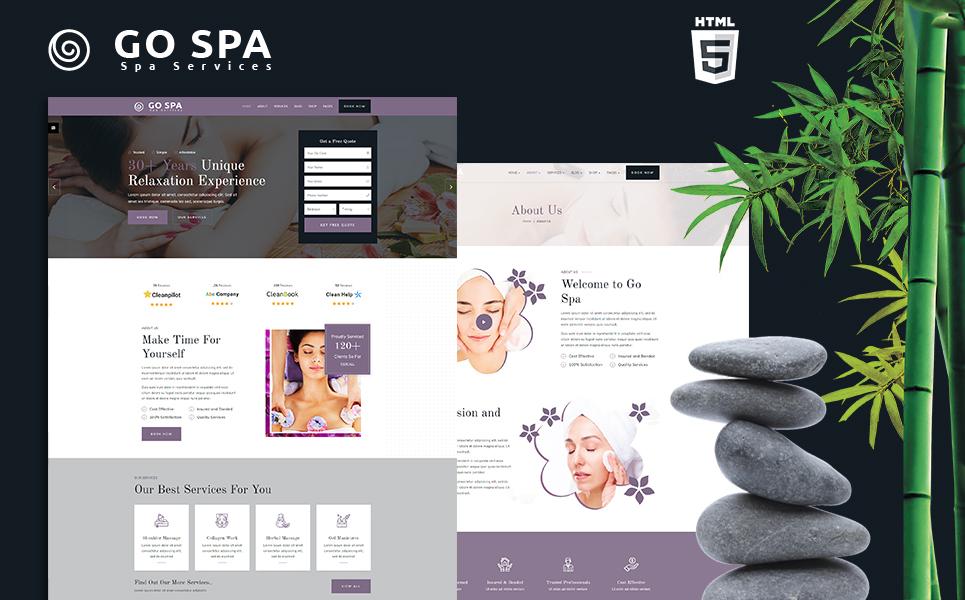 Reszponzív Gospa   Beauty Salon and Spa Weboldal sablon 121931