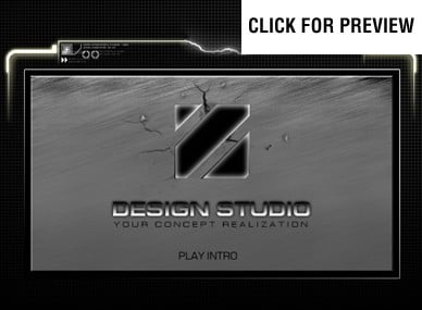 ADOBE Photoshop Template 12216 Home Page Screenshot