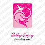 Wedding Logo  Template 12291