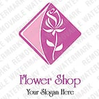 Flowers Logo  Template 12293
