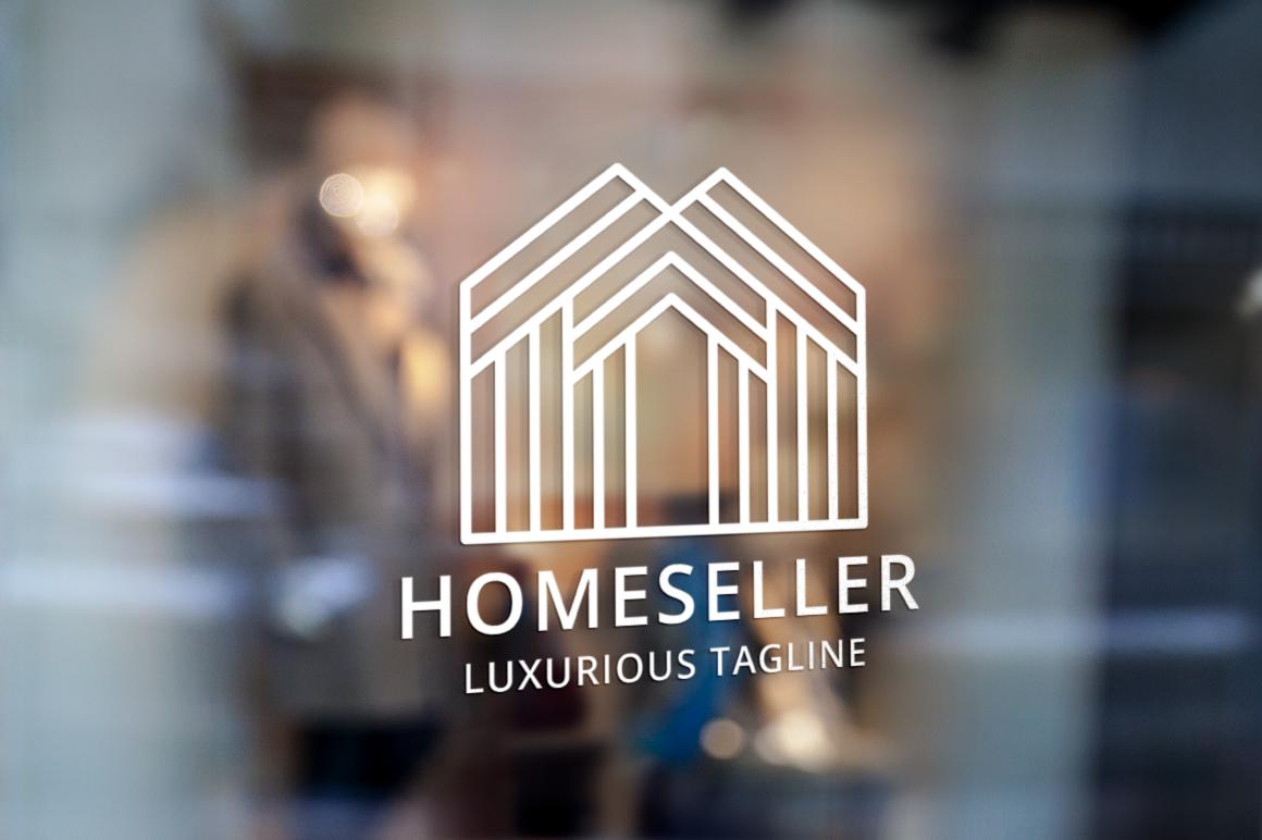 """Tema di Loghi #122067 """"Home Seller - Real Estate"""""""