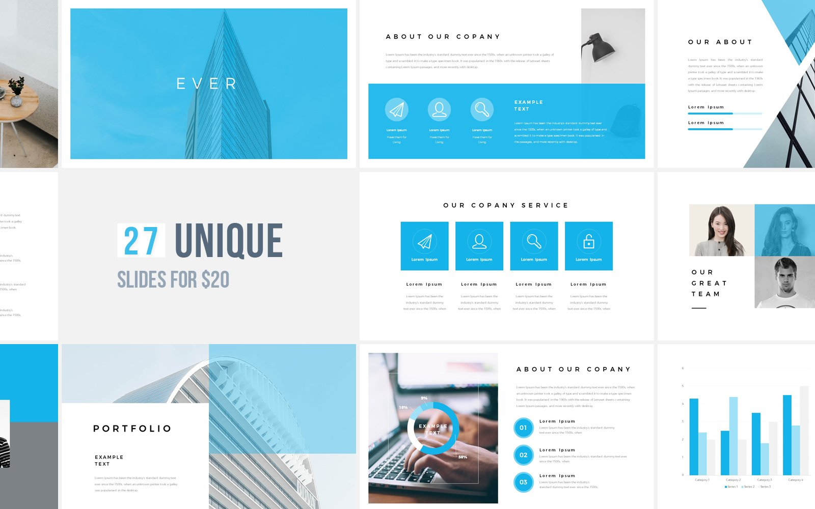 Ever Template PowerPoint №122115