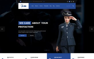 Security Guard Services Website Template