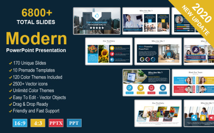 Responsive Solutions PowerPoint template PowerPoint Template