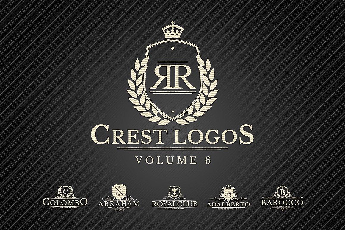 """Modello di Loghi #122357 """"Heraldic Crest Vol.6"""""""