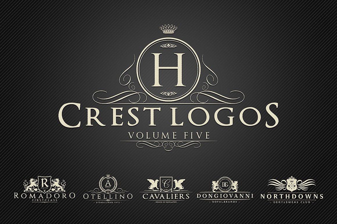 """Tema di Loghi #122361 """"Heraldic Crest Vol.5"""""""