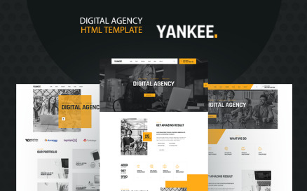 Yankee - Digital Agency Website Template