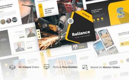 Reliance - Industrial & Factory Keynote Template