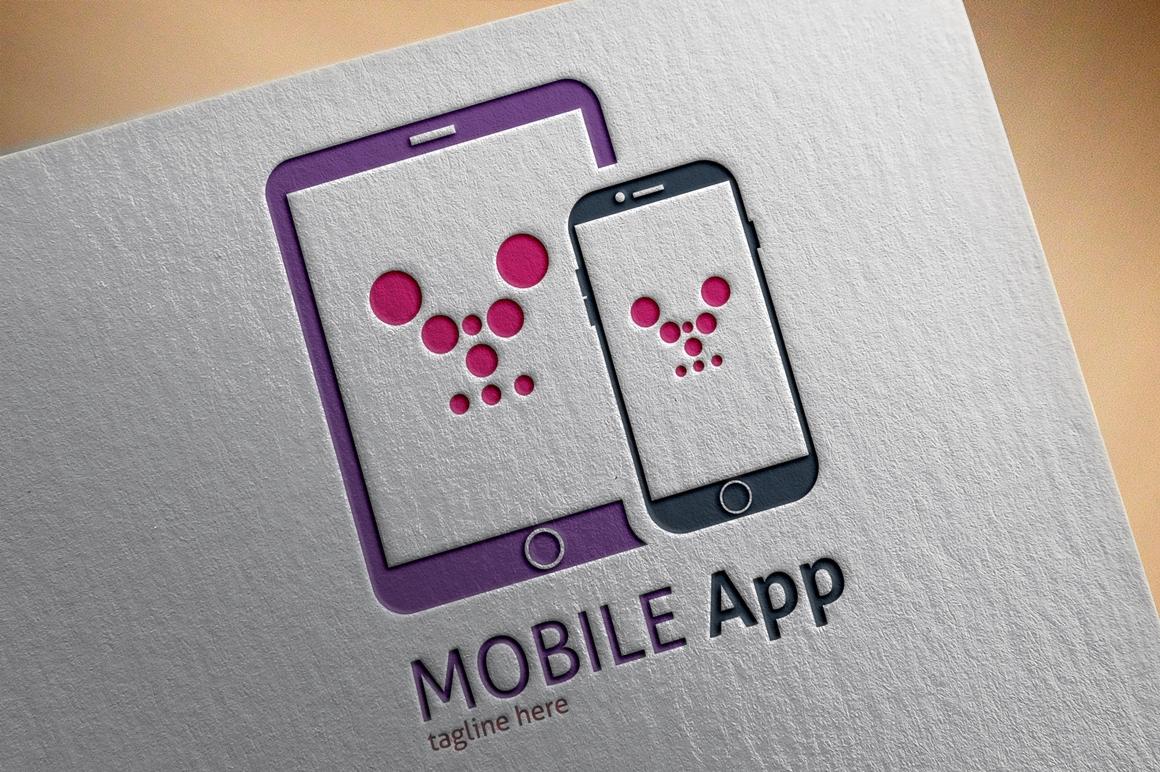 """Tema di Loghi #122547 """"Mobile App"""""""