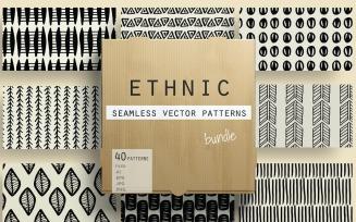 Ethnic Seamless Vector Pattern