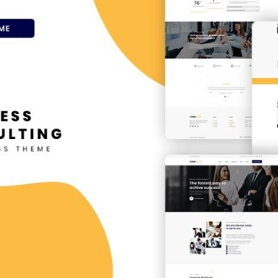 Consulity - Business Consulting WordPress Theme WordPress Theme #122894