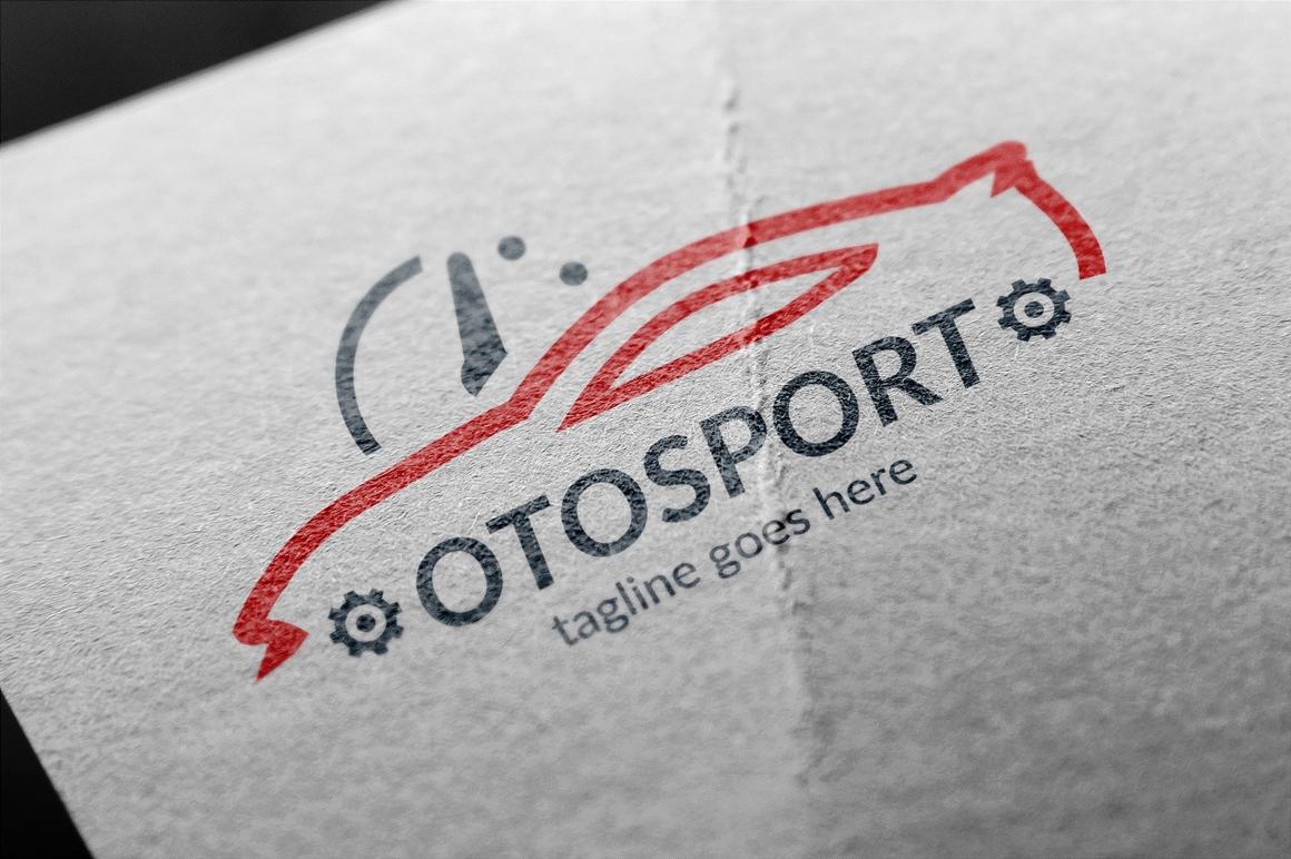 """Logo Vorlage namens """"Oto Sport"""" #122958"""