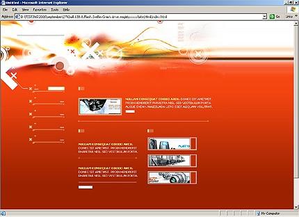 Website Template #12321