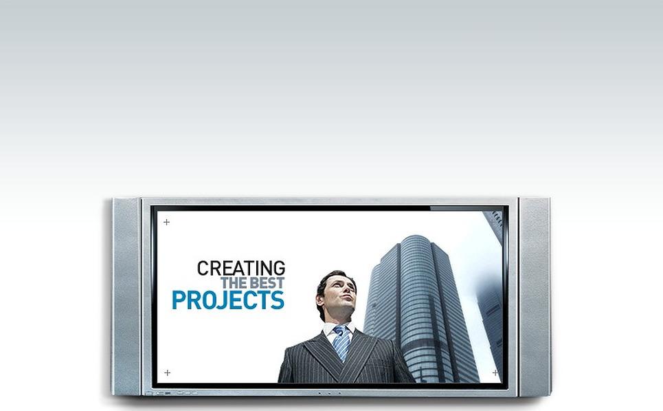 Szablon Intro Flash #12362 na temat: biznes i usługi New Screenshots BIG