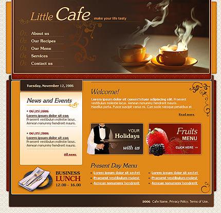 Creare site restaurant si cafenea
