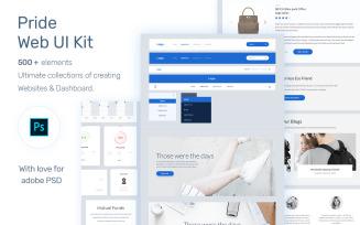 Pride Web UI Kit