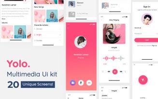 Yolo Multimedia Mobile App
