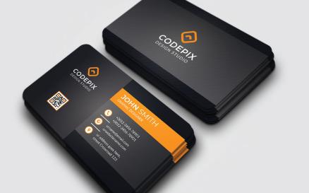 Codepix - Business Card - Corporate Identity Template