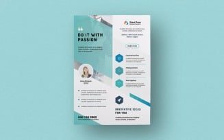 Free Flyer Template for Corporate Identity