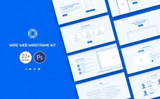 Wire Web Wireframe Kit UI Elements
