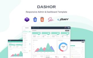 Dashor - Responsive