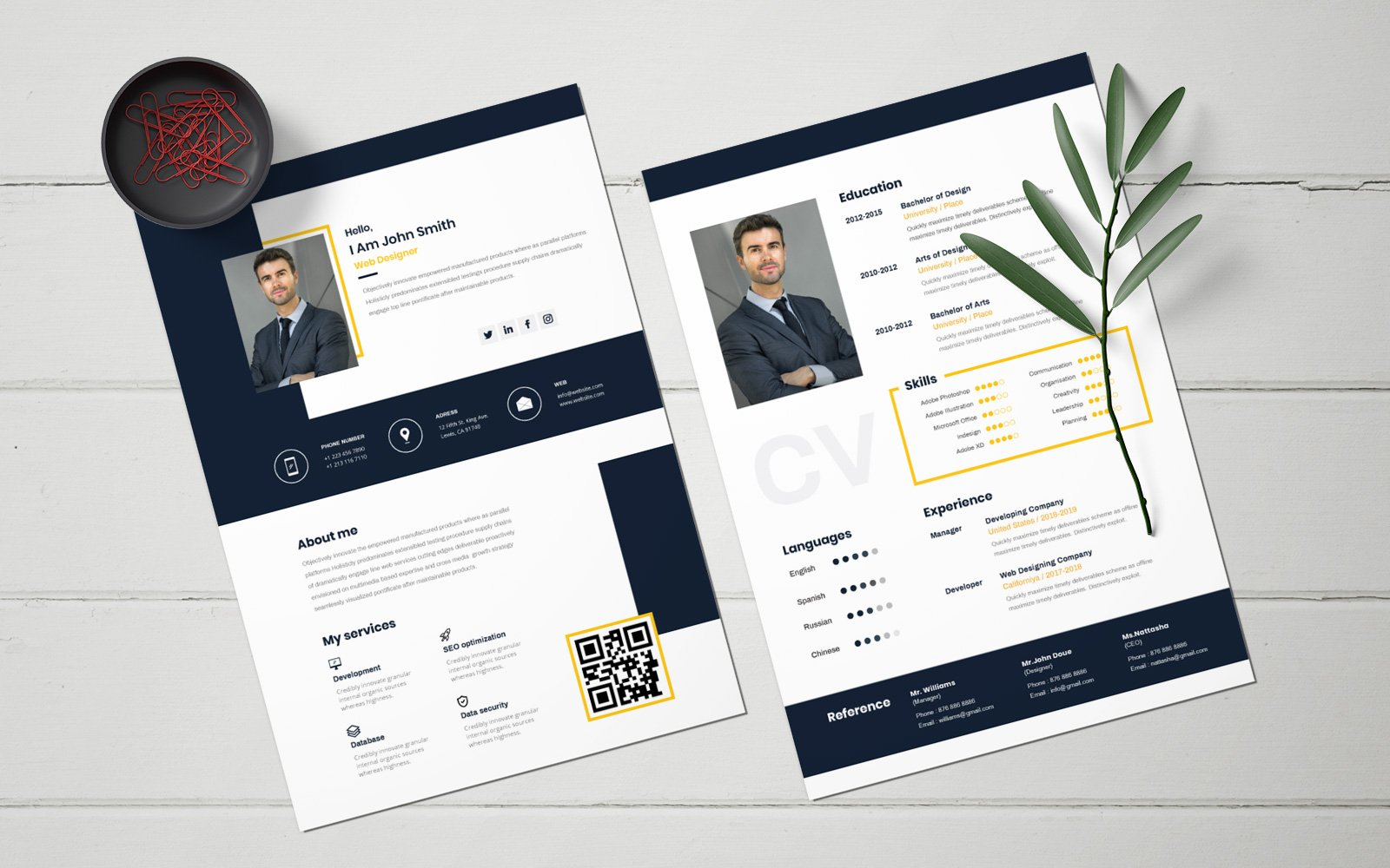 Unique Resume Template