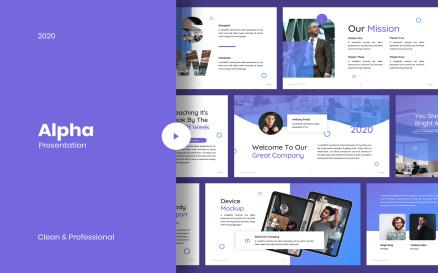 Alpha - Business Google Slide