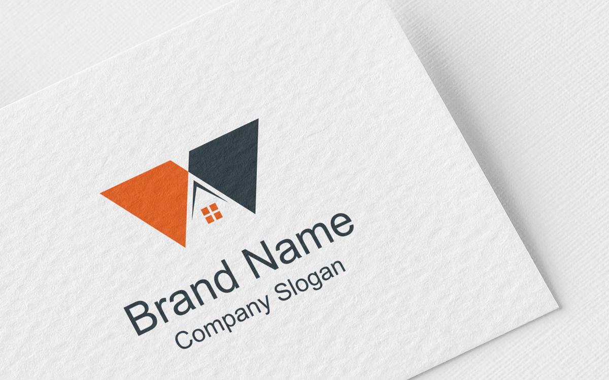 Letter W Realesate Design Logo Template