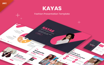 Kayas - Fashion PowerPoint Template