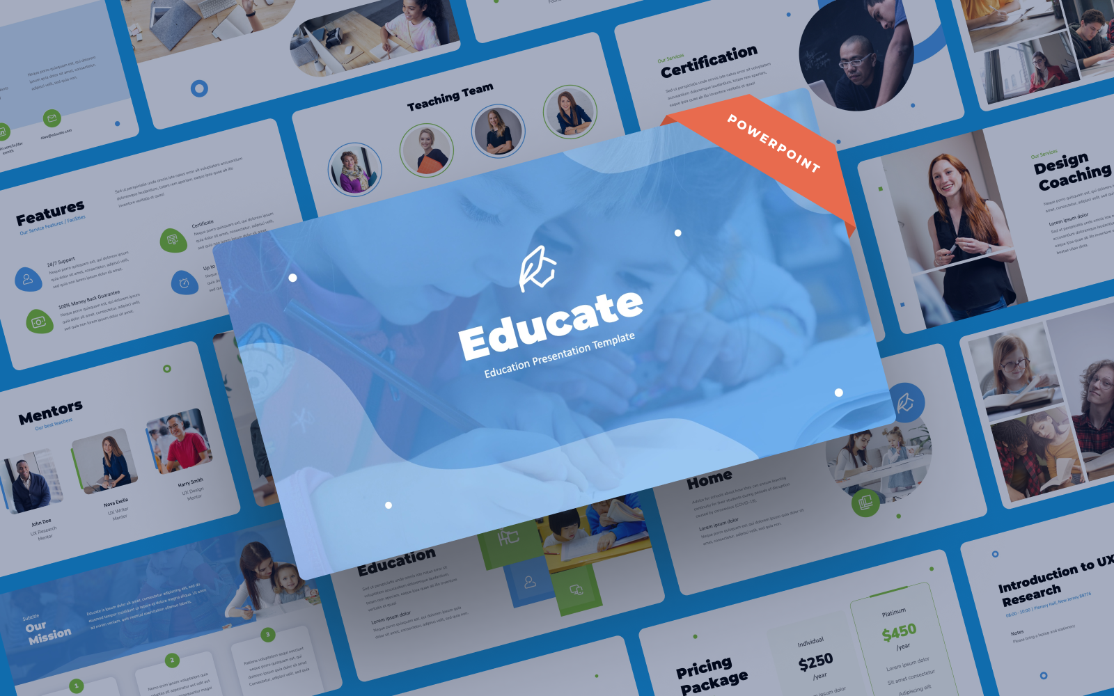 Educate - Education Presentation PowerPoint Template