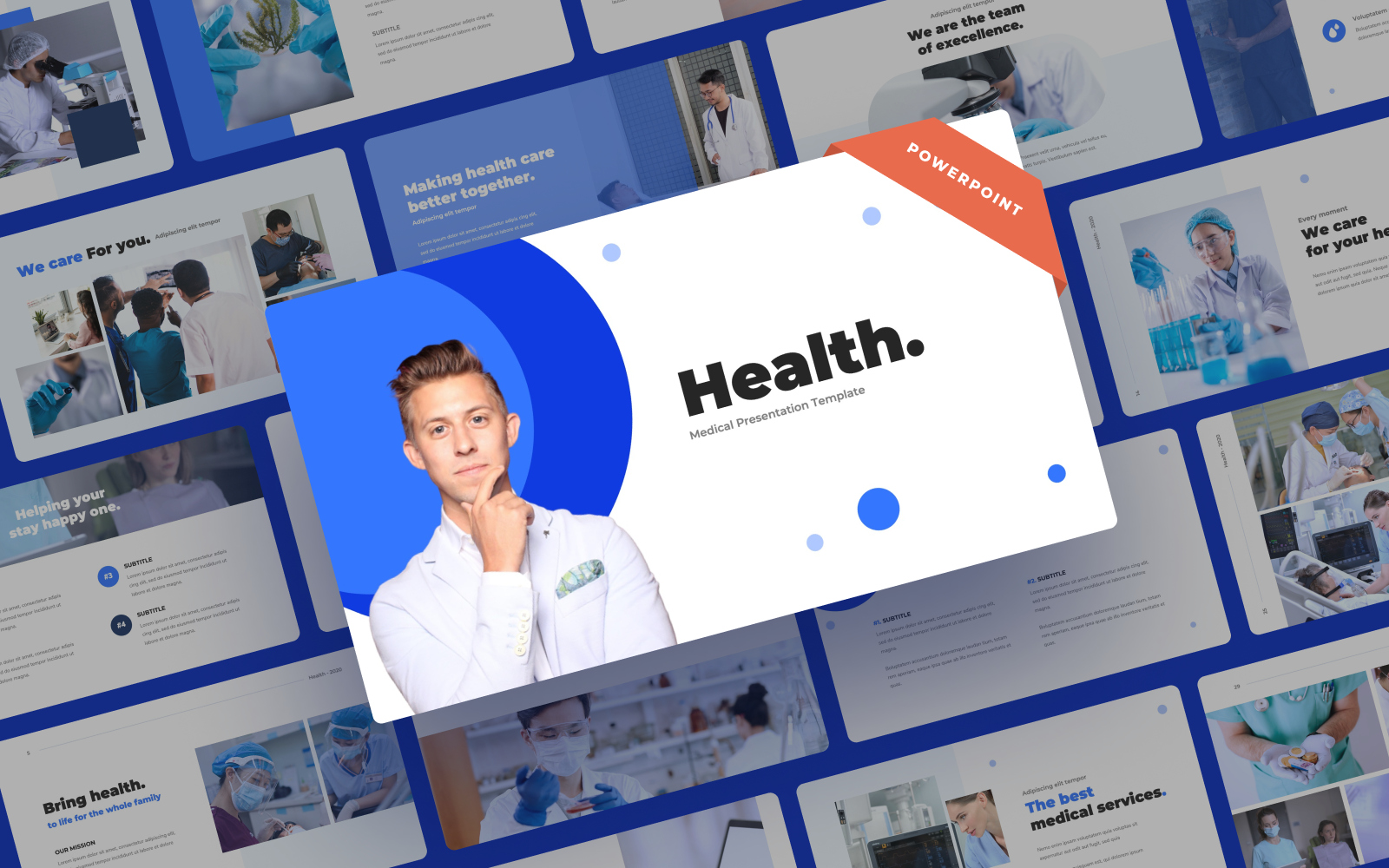 Health - Medical Presentation PowerPoint Template