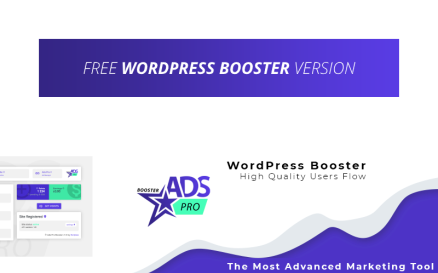 Free WP Booster by Ads Pro WordPress Plugin
